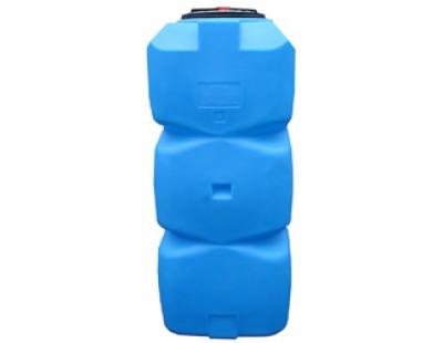 Емкость прямоугольная вертикальная Т800ВФК23, 800 л, цвет синий (АНИОН)