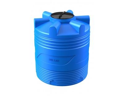 Емкость цилиндрическая вертикальная V 500, 500 л, цвет синий (POLIMER GROUP)