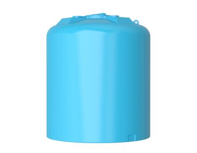 Емкость цилиндрическая вертикальная ATV-10000, 10000 л, цвет синий (АКВАТЕК)