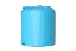 Емкость цилиндрическая вертикальная ATV-1500, 1500 л, цвет синий (АКВАТЕК)