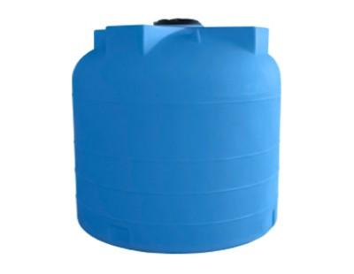 Емкость цилиндрическая вертикальная 5100ВФК2, 5100 л, цвет синий (АНИОН)