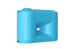 Емкость прямоугольная вертикальная Combi 1100 BW, 1100 л, цвет синий (АКВАТЕК)