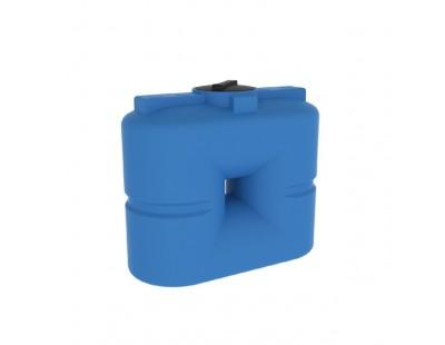 Емкость прямоугольная вертикальная S 500, 500 л, цвет синий (POLIMER GROUP)