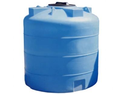 Емкость цилиндрическая вертикальная А_3000ВФК2, 3000 л, цвет синий (АНИОН)