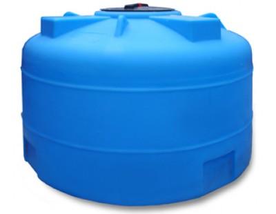 Емкость цилиндрическая вертикальная 2002ВФК2, 2000 л, цвет синий (АНИОН)