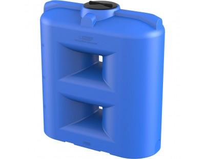 Емкость прямоугольная вертикальная SL 2000, 2000 л, цвет синий (POLIMER GROUP)
