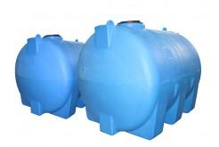 Емкость цилиндрическая горизонтальная МН5000ФК2, 5100 л, цвет синий (АНИОН)