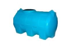 Емкость цилиндрическая горизонтальная МН300ФК2З, 300 л, цвет синий (АНИОН)