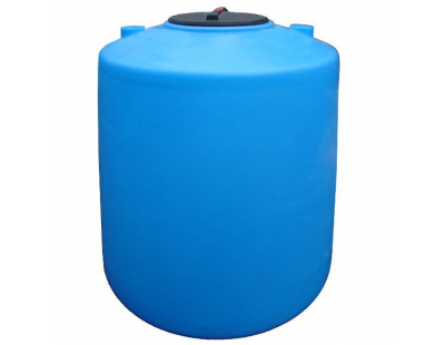 Емкость цилиндрическая вертикальная 1600ВФК2, 1600 л, цвет синий (АНИОН)