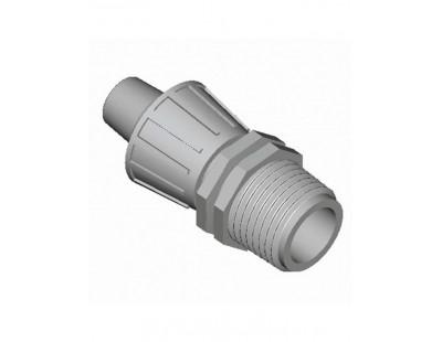 Муфта с накидной гайкой 16*Н1/2 Plast Project (3020.016C)