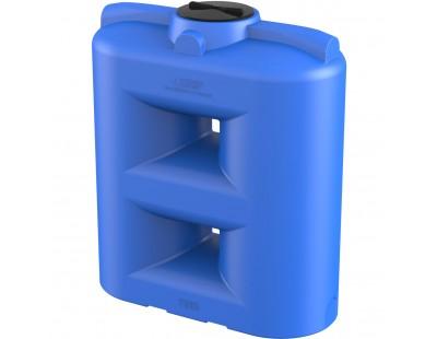 Емкость прямоугольная вертикальная SL 1500, 1500 л, цвет синий (POLIMER GROUP)
