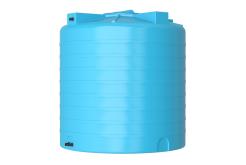 Емкость цилиндрическая вертикальная ATV-2000, 2000 л, цвет синий (АКВАТЕК)