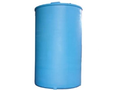 Емкость цилиндрическая вертикальная SB17-2ВФК2, 12000 л, цвет синий (АНИОН)