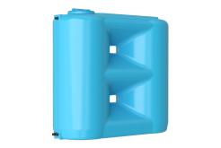 Емкость прямоугольная вертикальная Combi 1500 BW, 1500 л, цвет синий (АКВАТЕК)