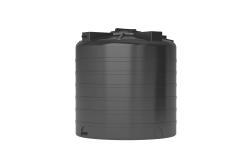 Емкость цилиндрическая вертикальная ATV-1000, 1000 л, цвет черный (АКВАТЕК)