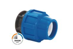 Заглушка компрессионная 40 PN16 Poliext (02070040)