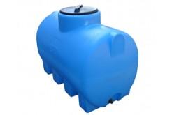 Емкость цилиндрическая горизонтальная МН750ФК2З, 750 л, цвет синий (АНИОН)