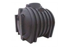 Септик однокамерный, с ребристой поверхностью подземный С3000, 3000 л, цвет черный (АНИОН)