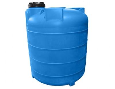 Емкость цилиндрическая вертикальная 5000ВФК2, 5100 л, цвет синий (АНИОН)