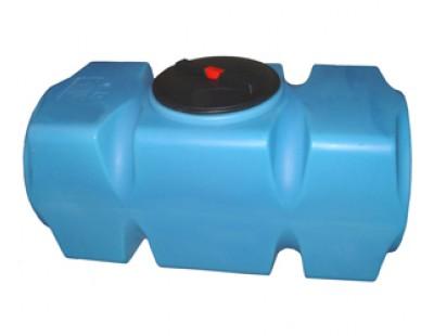 Емкость прямоугольная горизонтальная Т500ГФК23, 500 л, цвет синий (АНИОН)