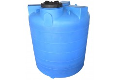 Емкость цилиндрическая вертикальная А_10000ВРК2, 10000 л, цвет синий (АНИОН)