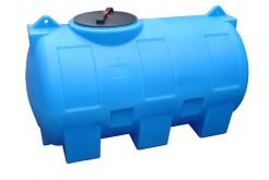 Емкость цилиндрическая горизонтальная МН1000ФК2, 1000 л, цвет синий (АНИОН)