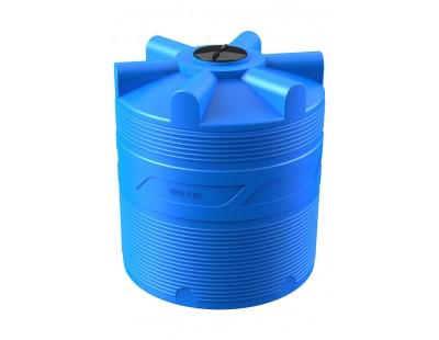 Емкость цилиндрическая вертикальная V 2000, 2000 л, цвет синий (POLIMER GROUP)