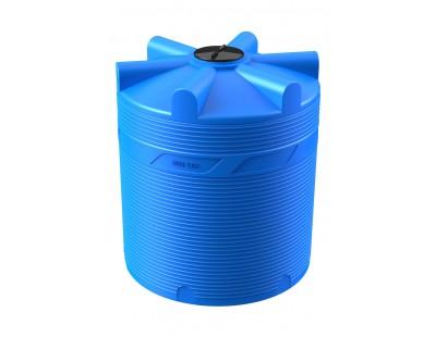 Емкость цилиндрическая вертикальная V 5000, 5000 л, цвет синий (POLIMER GROUP)
