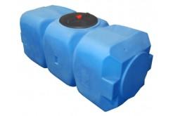 Емкость прямоугольная горизонтальная Т800ГФК2З, 800 л, цвет синий (АНИОН)