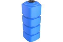 Емкость прямоугольная вертикальная F 1000, 1000 л, цвет синий (POLIMER GROUP)