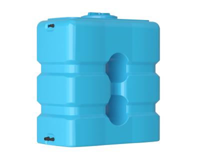 Емкость прямоугольная вертикальная АТР 1000, 1000 л, цвет синий (АКВАТЕК)