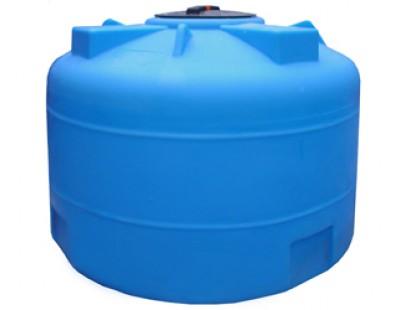 Емкость цилиндрическая вертикальная 1500ВФК2, 1500 л, цвет синий (АНИОН)