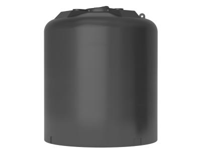 Емкость цилиндрическая вертикальная ATV-10000, 10000 л, цвет черный (АКВАТЕК)