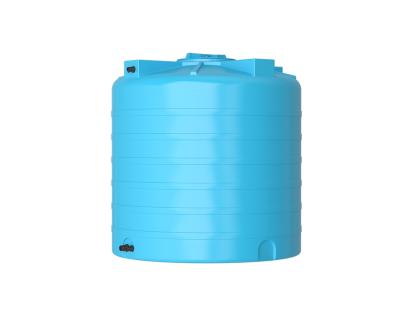Емкость цилиндрическая вертикальная ATV-1000, 1000 л, цвет синий (АКВАТЕК)