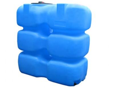 Емкость прямоугольная вертикальная Т1000ФК23, 1000 л, цвет синий (АНИОН)