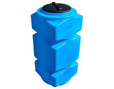 Емкость прямоугольная вертикальная Т500ВФК23, 500 л, цвет синий (АНИОН)