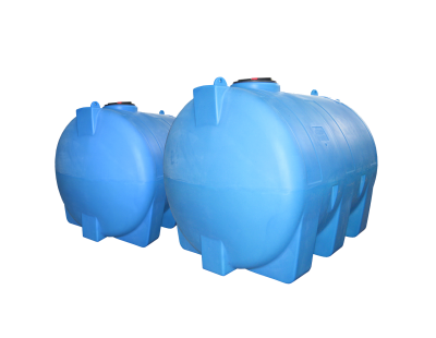 Емкость цилиндрическая горизонтальная МН2000ФК2, 1850 л, цвет синий (АНИОН)