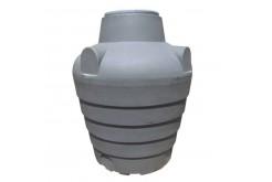 Септик однокамерный, с ребристой поверхностью подземный С1700, 1700 л, цвет черный (АНИОН)