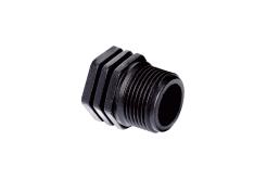Заглушка резьбовая с наружной резьбой Н1 1/4 PN10 Poliext (06080050)
