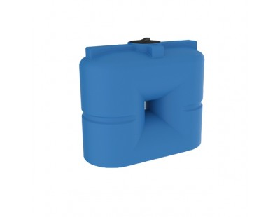 Емкость прямоугольная вертикальная S 1000, 1000 л, цвет синий (POLIMER GROUP)